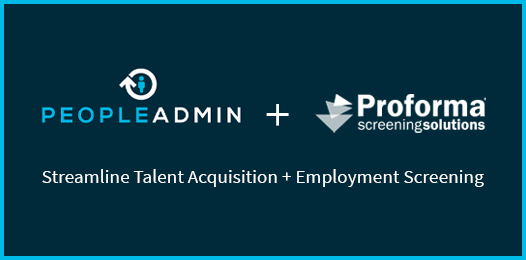 Proforma Screening Solutions Partners with PowerSchool's PeopleAdmin to Streamline Talent Acquisition and Employment Screening for Higher Education