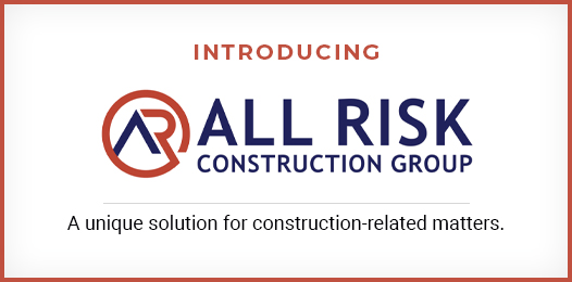All Risk Construction Group Forms to Offer Unique Solution for Construction-Related Losses