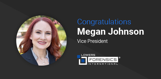 congratulations Megan Johnson, Vice President