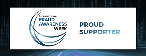 International Fraud Week. Proud Supporter.