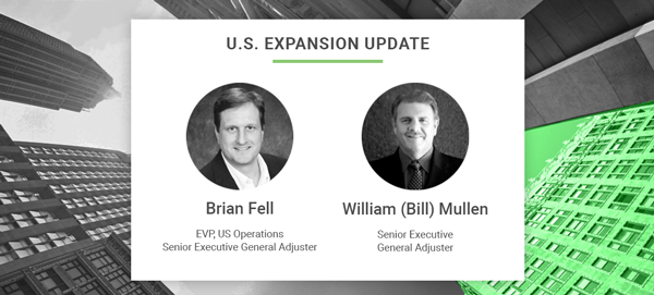 Global Adjusting Firm, Adjusteck, Strengthens U.S. Presence with Addition of Brian Fell and William Mullen