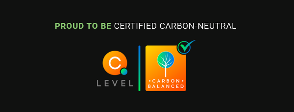 proud to be certified carbon neutral